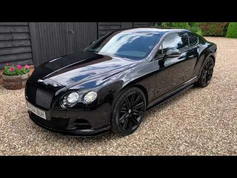 Bentley Continental MK2 GT Speed W12 [635] AllBlack - FTC Le