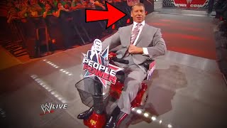 10 RARE Times Vince McMahon Broke Character In WWE