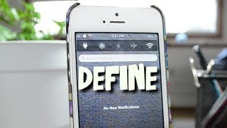 Define - Free Cydia Dictionary Notification Center Widget For iPhone & iPod Touch