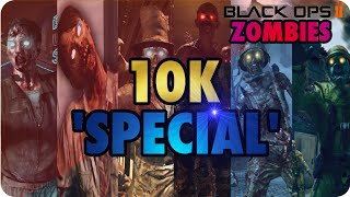 """Black Ops 2 Zombies Easy* BEST WORKING GLITCH ON ALL MAPS """"10K Special"""""""