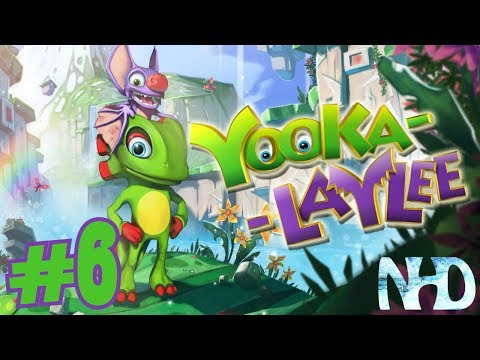 Let's Play Yooka-Laylee (pt6) Tribalstack Tropics - Getting Moves |