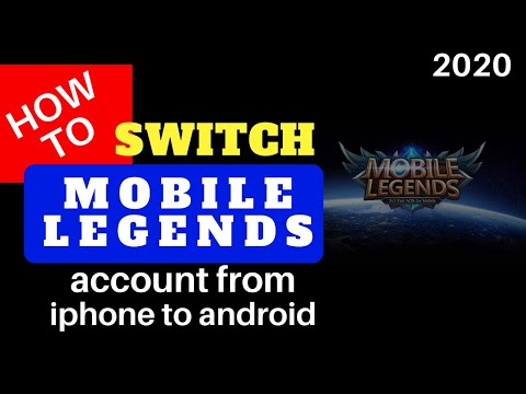 How To SWITCH ML Account | Iphone To Android
