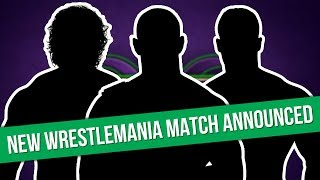 New WWE WrestleMania 34 Title Match Announced | New Japan Cup Winner