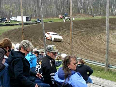 Scott Messner Practice Bemidji Speedway (April 26th 2010)