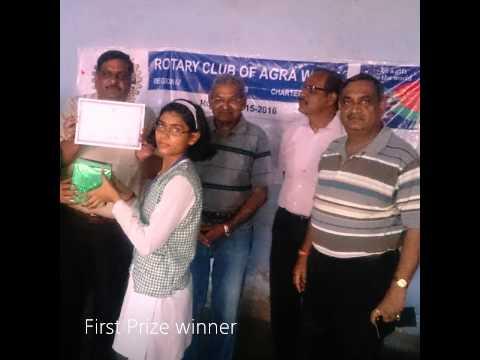 Rotary Club Agra West - September 2015