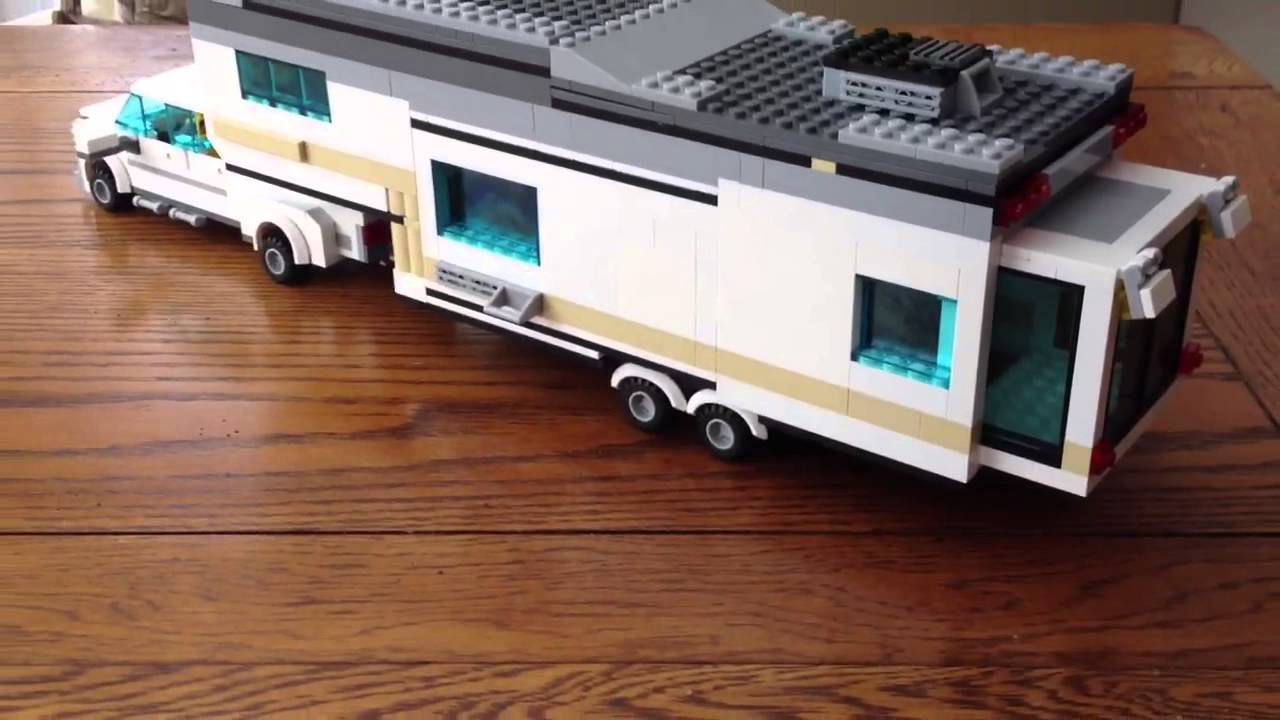 Lego Fifth Wheel Camper And Truck YouTube