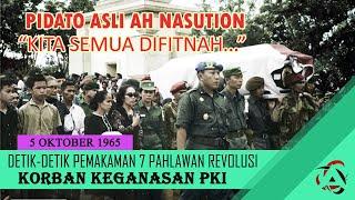 Download Mp3 MENGENANG SEJARAH DETIK DETIK PEMAKAMAN 7 PAHLAWAN REVOLUSI DAN PIDATO JENDERAL BESAR A H NASUTION
