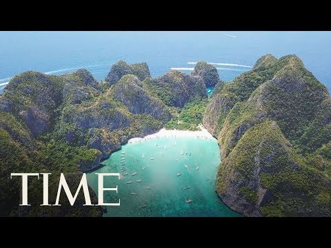 The Thai Beach Featured In The Movie 'The Beach' Will Be Closed Until 2021   TIME