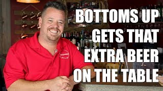 It Gets That Extra Beer on the Table - Foxgardin Restaurant Bottoms Up Testimonial