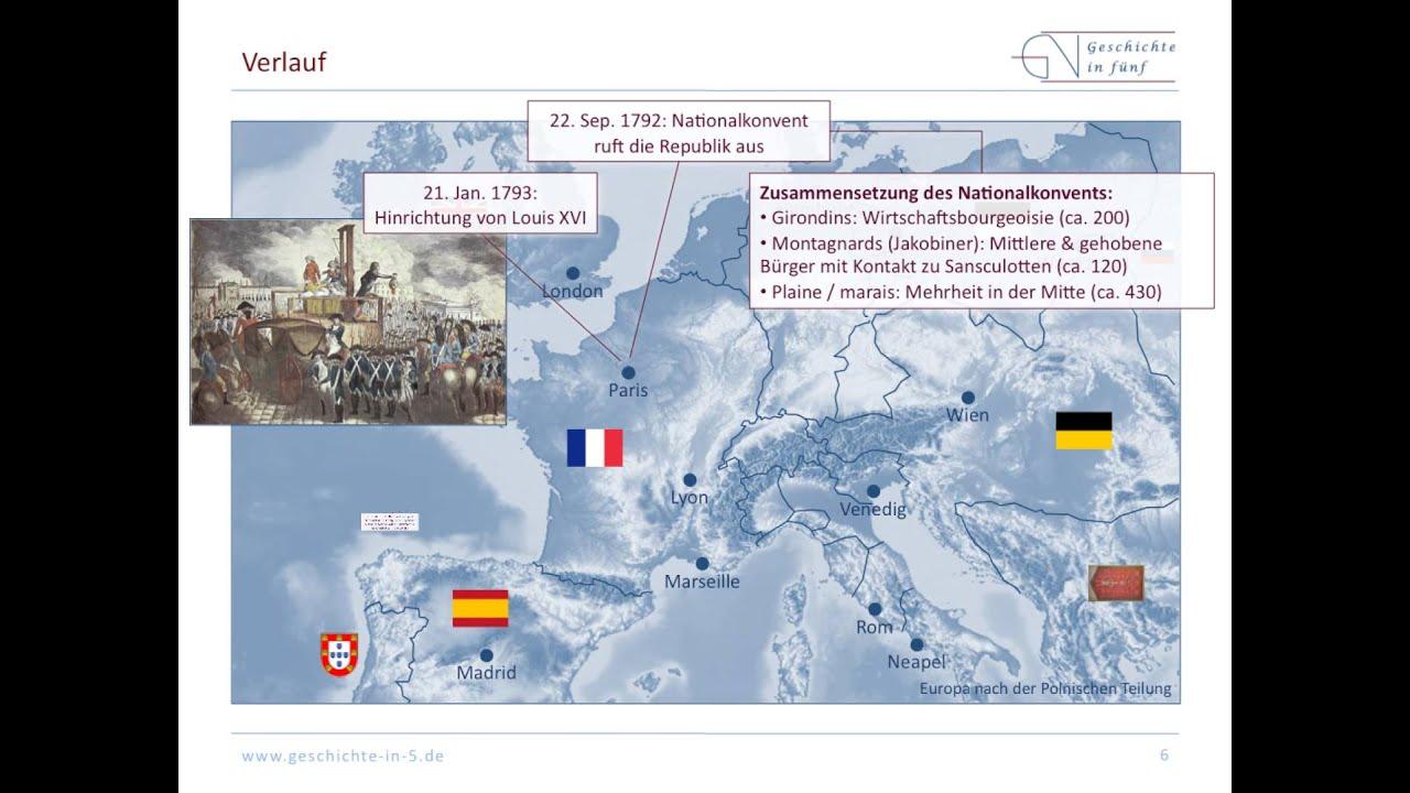 Die Französische Revolution Zweite Phase 1792 1794 Youtube