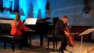 Sonate pour violoncelle et piano, Rachmaninov, 3ème mouvement Boris Baraz et Irina Kataeva