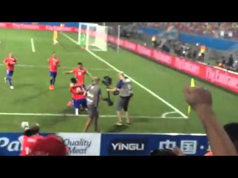 Nuevo video Gol de Alexis, Chile 3 & Australia 1