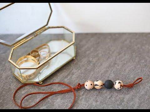 Boho Wooden Bead Necklace Tutorial