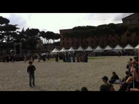 The roman funeral ceremony