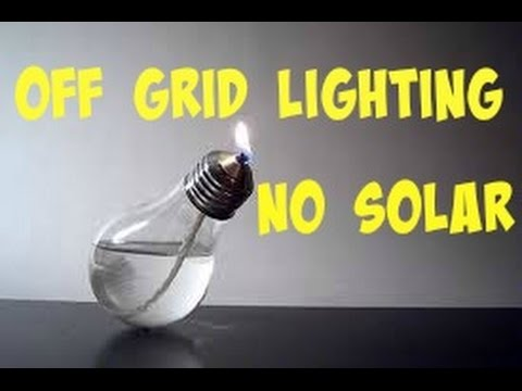 off grid lighting with no solar