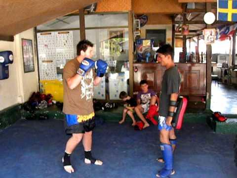 Daniel Henshall Thai Boxing