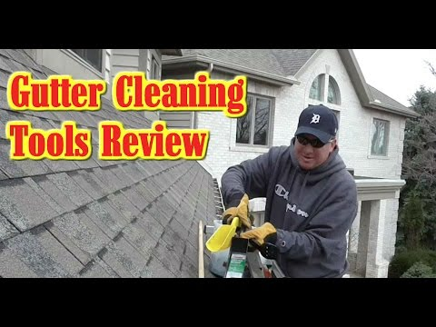 Gutter Cleaning Tool Comparison and Review