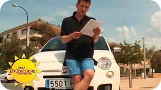 Der große Mietwagen-Test auf Mallorca   SAT.1 Frühstücksfernsehen