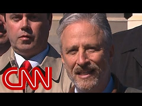 Jon Stewart slams Mulvaney over 911 health program proposal