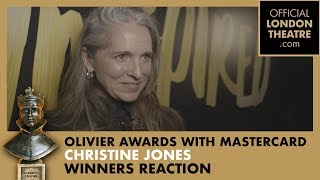 Winner Reaction: Christine Jones for Harry Potter And The Cursed Child
