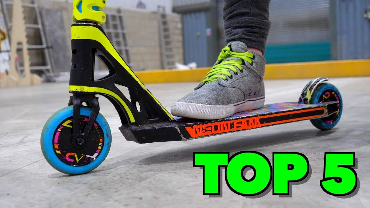 TOP 20 FASTEST SCOOTER TRICKS TO LEARN🛴‼️