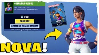 * NEW * Skin of the World Cup Fortnite shop-today's shop 25/07/2019 + Volta do Peixoto