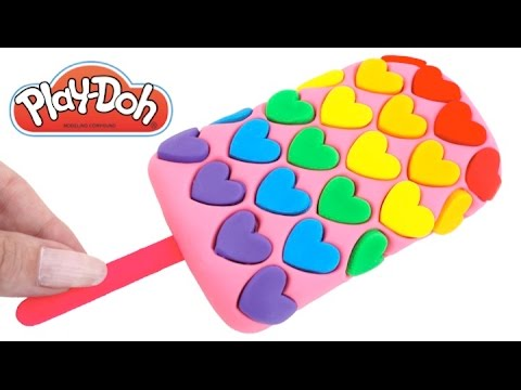 Thumbnail: DIY How to Make Play Doh Heart Popsicle Modelling Clay Learn Colors RL