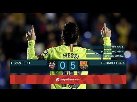 Levante vs Barcelona [0-5], La Liga 2018/19 - MATCH REVIEW thumbnail