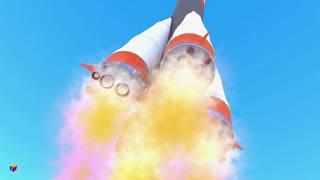 Конструктор: собираем ракету - скоро на канале Мизяка-Дизяка - трейлер (тизер) к мультику для детей