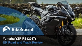 yamaha YZF-R6 (2017) Road and Track Review  BikeSocial