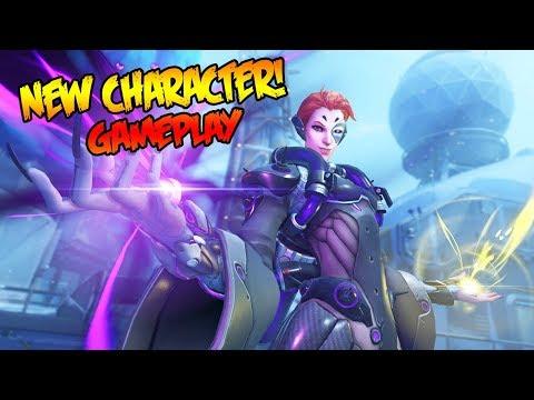 OVERWATCH - NEW MOIRA GAMEPLAY IN PTR!!! (Overwatch Gameplay)