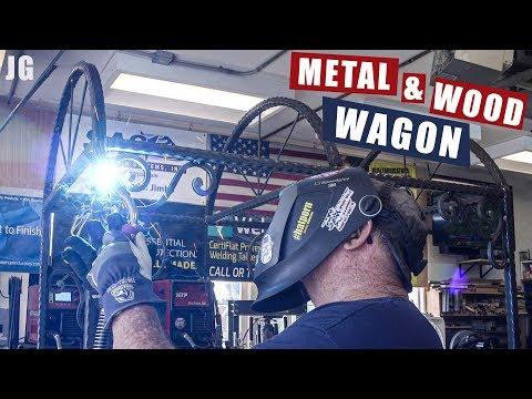 Metal & Wood Wagon Part 1 | JIMBO'S GARAGE