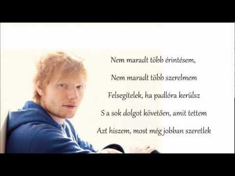 Ed Sheeran - Lego house (magyarul)