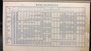 簡明火車時刻表 1969年5月15日版 screenshot 4