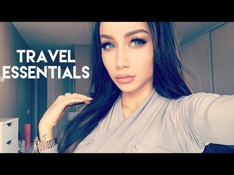 In Flight Travel Essentials