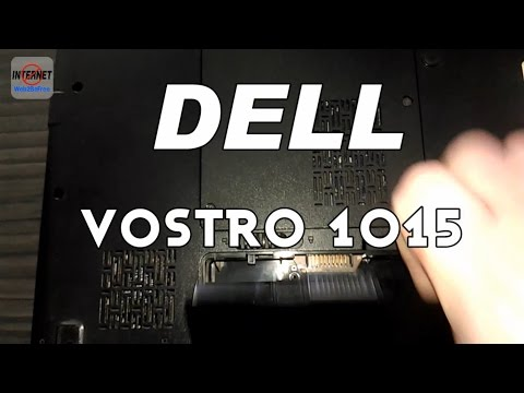 Dell Vostro 1015 - Disassemble for CPU Cooler Cleanup