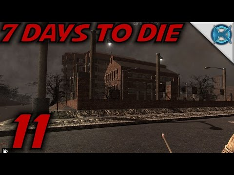 "7 Days to Die -Ep. 11- ""Water Treatment Plant"" -Gameplay / Let's Play- Alpha 13.6 (S13.6)"