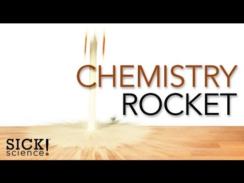 chemistry rocket experiment Build a rocket and try an experiment  is responsible for powering this chemistry rocket from steve  20 ways to build a rocket: experiments and crafts.