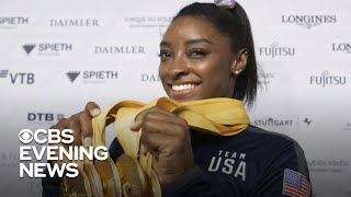 Simone Biles wins 25th gold medal at Gymnastics World Championships