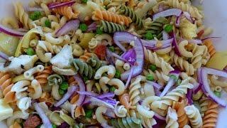 Perfect Pasta Salad Everytime!