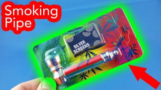 ✅ 2$ Smoking Pipe Rasta from AliExpress Unboxing haul