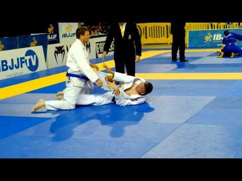 Gary Team Pan Ams 2015 semi final. Master 4 blue belt
