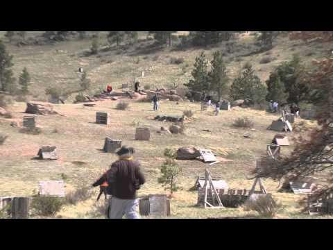 2012 Wyoming Football Paintball Trip