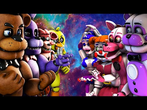 Thumbnail: Top 10: Best Five Nights at Freddy's FIGHT Animations 2016 (KILL FNAF VS Animations)