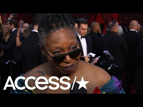 Whoopi Goldberg Hides Doc Martens Under Her Fabulous 2018 Oscars Dress! | Access