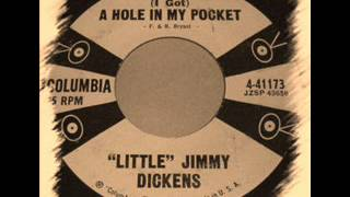 Little Jimmy Dickens - I Got A Hole In My Pocket