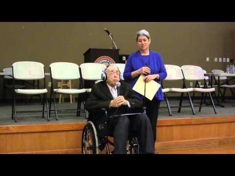 Maxwell Simon's 75 year IBEW membership speech