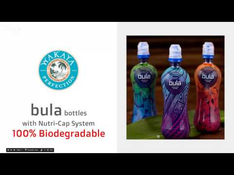 Drink Clean Water - New, Affordable, Biodegradable Choice... in a Bottle