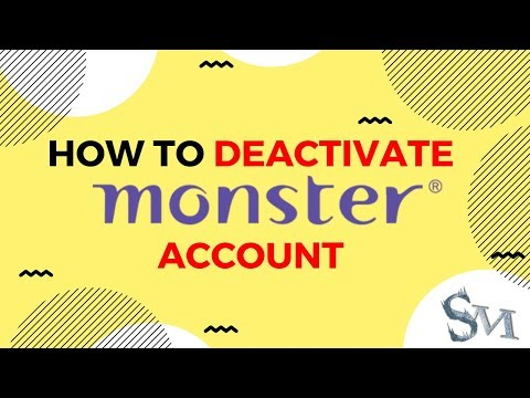 How To Deactivate Monster India Account Easily | 2019 | #SignatureMorons