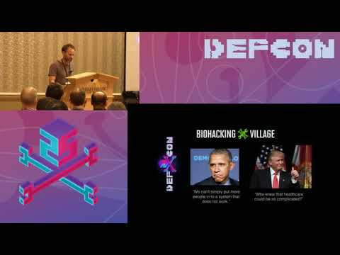 DEF CON 25 BioHacking Village - John Bass - Medical Industry Disrupt: Blockchain